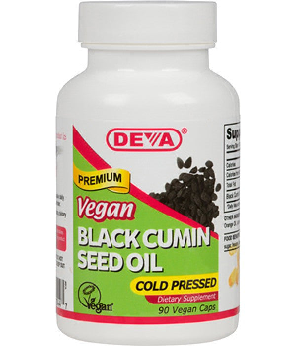 Buy Deva, Vegan Cumin Black Seed Oil, 90 cap vegi at Herbal Bless Supplement Store