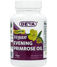Buy Deva, Vegan Evening Primrose Oil, 90 cap vegi at Herbal Bless Supplement Store