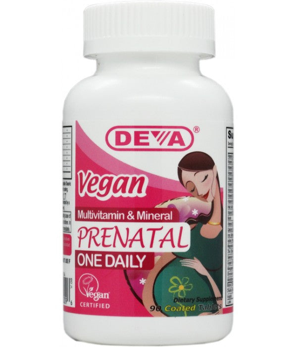 Buy Deva, Vegan Prenatal MultiVitamin, 90 tablet at Herbal Bless Supplement Store