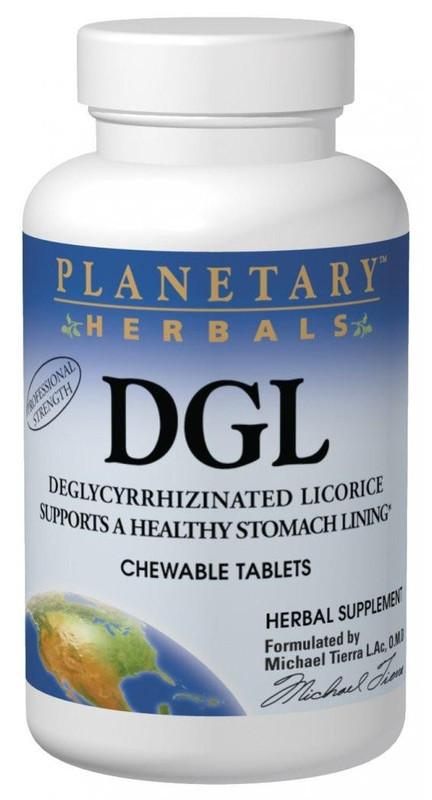 Buy DGL (Deglycyrrhizinated Licorice) Chewable, Tablets at Herbal Bless Supplement Store