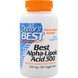 Buy Doctor's Best, Best Alpha-Lipoic Acid (300mg), 180 vcaps at Herbal Bless Supplement Store