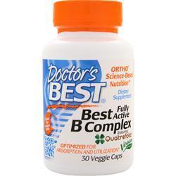 Buy Doctor's Best, Best B Complex - Fully Active, vcaps at Herbal Bless Supplement Store