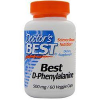Buy Doctor's Best, Best D-Phenylalanine, 60 vcaps at Herbal Bless Supplement Store
