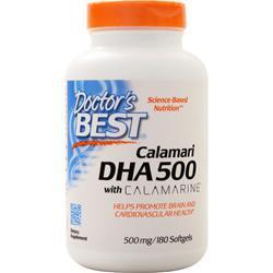 Buy Doctor's Best, Best DHA 500 from Calamari at Herbal Bless Supplement Store