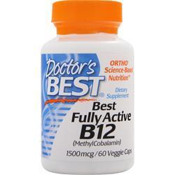Buy Doctor's Best, Best Fully Active B12, 60 vcaps at Herbal Bless Supplement Store