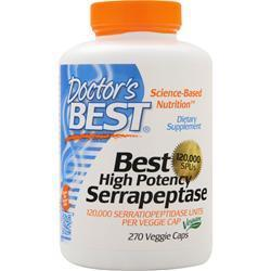 Buy Doctor's Best, Best High Potency Serrapeptase (120,000 Units) at Herbal Bless Supplement Store