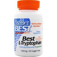 Buy Doctor's Best, Best L-Tryptophan (500mg), 90 vcaps at Herbal Bless Supplement Store