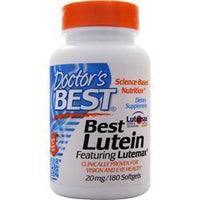 Buy Doctor's Best, Best Lutein Featuring Lutemax, 180 sgels at Herbal Bless Supplement Store