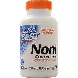 Buy Doctor's Best, Best Noni Concentrate (1300mg), 120 vcaps at Herbal Bless Supplement Store