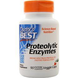 Buy Doctor's Best, Best Proteolytic Enzymes, 90 vcaps at Herbal Bless Supplement Store