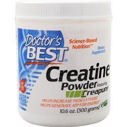 Buy Doctor's Best, Creatine Powder (Creapure), 300 grams at Herbal Bless Supplement Store