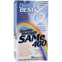 Buy Doctor's Best, Double Strength SAMe 400 at Herbal Bless Supplement Store