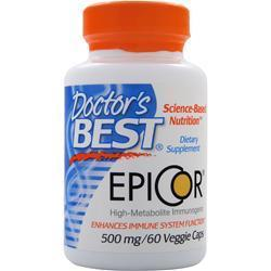 Buy Doctor's Best, Epicor (500mg), 60 vcaps at Herbal Bless Supplement Store