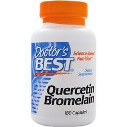 Buy Doctor's Best, Quercetin Bromelain, 180 caps at Herbal Bless Supplement Store