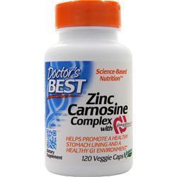 Buy Doctor's Best, Zinc Carnosine Complex with PepZin GI, 120 vcaps at Herbal Bless Supplement Store