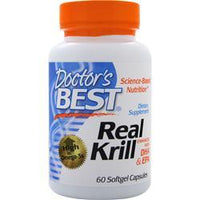 Buy Doctor's Best,Real Krill - Enhanced with DHA & EPA,60 sgels at Herbal Bless Supplement Store