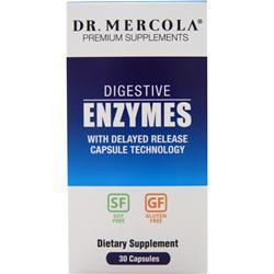 Buy Dr. Mercola, Digestive Enzymes, 30 caps at Herbal Bless Supplement Store