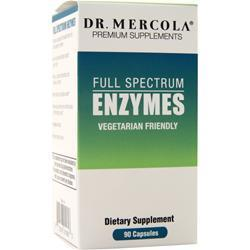 Buy Dr. Mercola, Full Spectrum Enzymes, 90 tabs at Herbal Bless Supplement Store