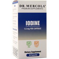 Buy Dr. Mercola, Iodine (1500mg), 30 caps at Herbal Bless Supplement Store