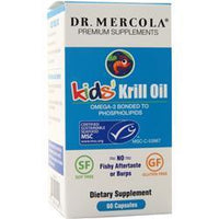 Buy Dr. Mercola, Krill Oil For Kids, 60 caps at Herbal Bless Supplement Store