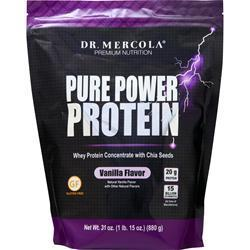 Buy Dr. Mercola, Pure Power Protein, vanilla 880 grams at Herbal Bless Supplement Store