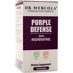 Buy Dr. Mercola, Purple Defense with Resveratrol, 30 caps at Herbal Bless Supplement Store