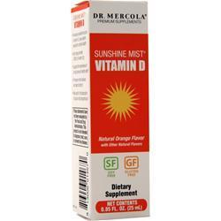 Buy Dr. Mercola, Sunshine Mist Vitamin D, orange .85 fl.oz at Herbal Bless Supplement Store