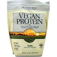 Buy Dr. Mercola, Vegan Protein, Vanilla 690 grams at Herbal Bless Supplement Store
