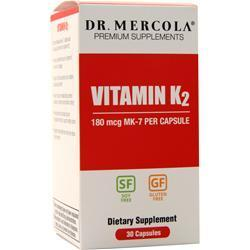 Buy Dr. Mercola, Vitamin K2, 30 caps at Herbal Bless Supplement Store
