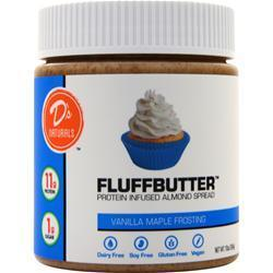 Buy D's Naturals, FluffButter - Protein Infused Almond Spread at Herbal Bless Supplement Store