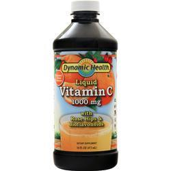 Buy Dynamic Health, Vitamin C Liquid (1000mg) Natural Citrus, 16 fl.oz at Herbal Bless Supplement Store
