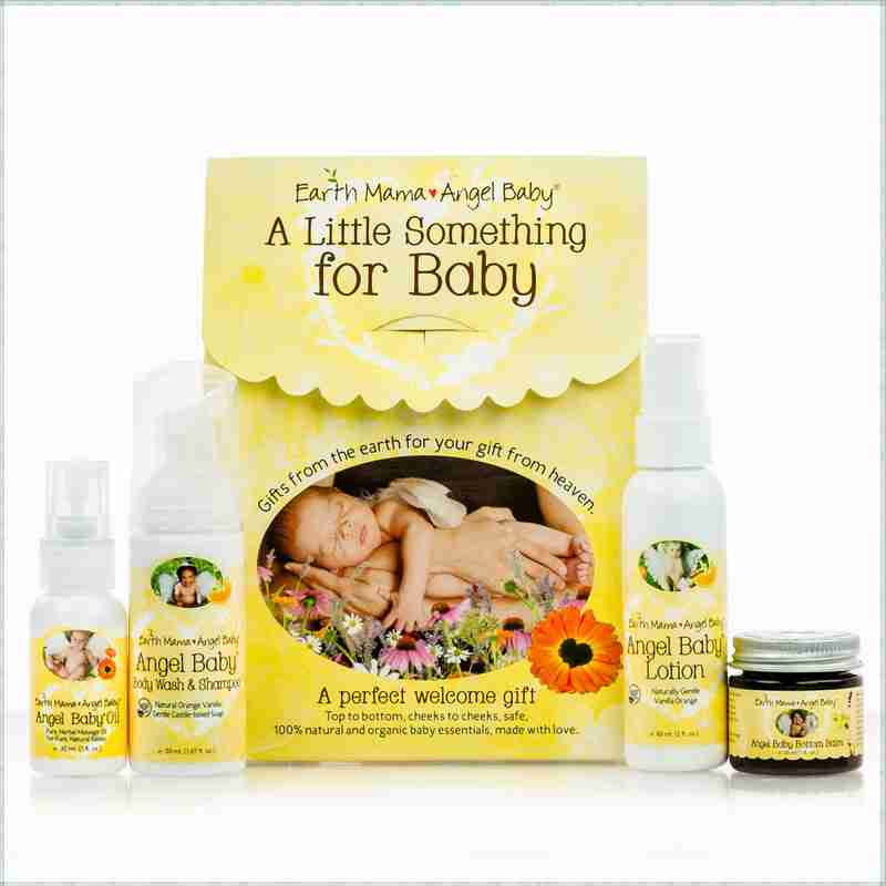 Buy Earth Mama Angel Baby, A Little Something For Baby Set, 4 pc at Herbal Bless Supplement Store