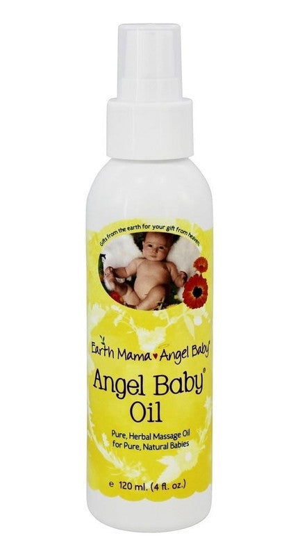 Buy Earth Mama Angel Baby, Angel Oil for Babies, 4 oz at Herbal Bless Supplement Store