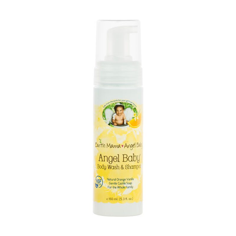 Buy Earth Mama Angel Baby, Baby Shampoo & Body Wash, 5.3 oz at Herbal Bless Supplement Store