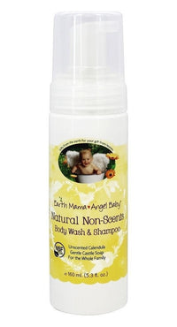 Buy Earth Mama Angel Baby, Natural Non-Scents Shampoo & Body Wash for Babies, 5.3 oz at Herbal Bless Supplement Store