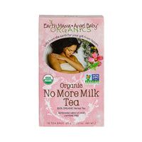 Buy Earth Mama Angel Baby, Organic No More Milk Tea, 16 bag at Herbal Bless Supplement Store