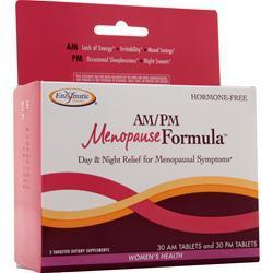 Buy Enzymatic Therapy, AM/PM Menopause Formula, 60 tabs at Herbal Bless Supplement Store