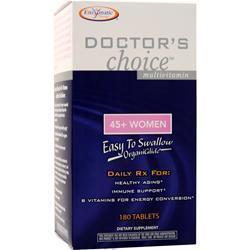 Buy Enzymatic Therapy, Doctor's Choice for 45-Plus Women, 180 tabs at Herbal Bless Supplement Store