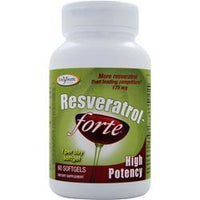Buy Enzymatic Therapy, Resveratrol-Forte - High Potency, 60 sgels at Herbal Bless Supplement Store