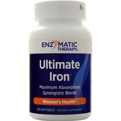 Buy Enzymatic Therapy, Ultimate Iron, 90 sgels at Herbal Bless Supplement Store
