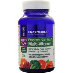 Buy Enzymedica, Enzyme Nutrition Multi-Vitamin Women's 50 +, 60 caps at Herbal Bless Supplement Store