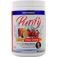 Buy Enzymedica, Purify - Fiber Drink +, pomegranate Lemonade 8 oz at Herbal Bless Supplement Store