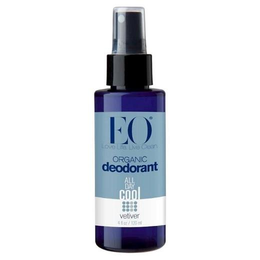 Buy EO, Organic Vetiver Deodorant Spray - 4.0 fl oz at Herbal Bless Supplement Store