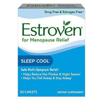 Buy Estroven, Menopause Relief Sleep Cool Caplets 30ct at Herbal Bless Supplement Store