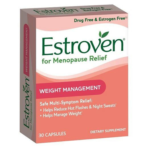 Buy Estroven, Menopause Relief with Weight Management Capsules 30ct at Herbal Bless Supplement Store