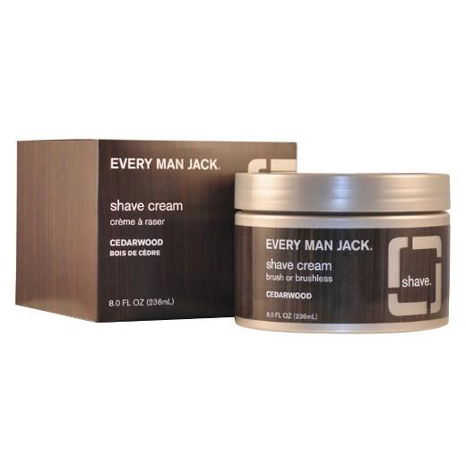 Buy Every Man Jack, 8.0oz Shave Cream Cedarwood at Herbal Bless Supplement Store