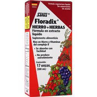 Buy Flora, Floradix Iron + Herbs - Liquid Extract Formula at Herbal Bless Supplement Store