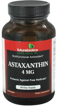 Buy Futurebiotics, Astaxanthin 4mg, 90 softgel at Herbal Bless Supplement Store