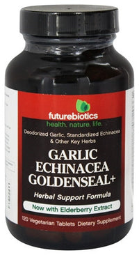 Buy Futurebiotics, Garlic-Echinacea-Elderberry+, 120 vegetarian tablets at Herbal Bless Supplement Store