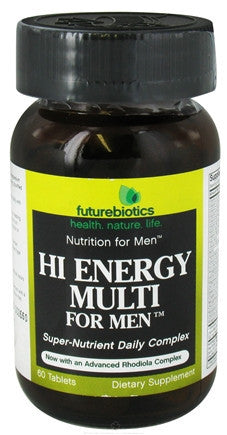 Buy Futurebiotics, Hi Energy Multi for Men, 60 tablet at Herbal Bless Supplement Store